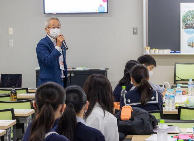 熊本県の公益財団法人「肥後の水とみどりの愛護基金」常務理事の大野芳範さん