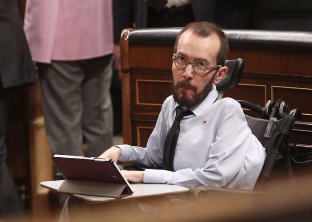 Pablo Echenique, en el
