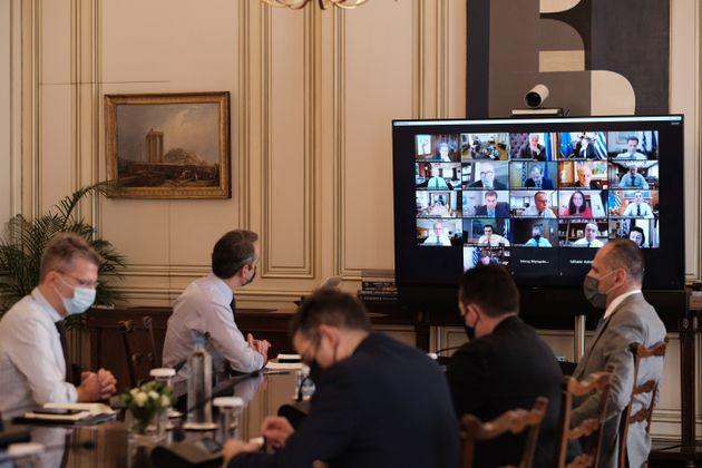 Η σημερινή συνεδρίαση του υπουργικού