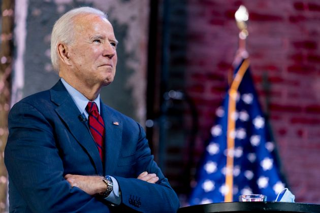 El candidato demócrata a la presidencia de Estados Unidos, Joe