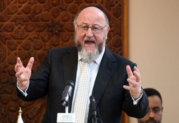 Britain's Chief Rabbi Ephraim Mirvis