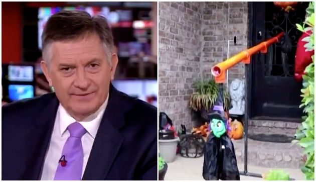 BBC News' Simon McCoy Has Savage Dig At Family's Covid-Friendly Halloween Solution