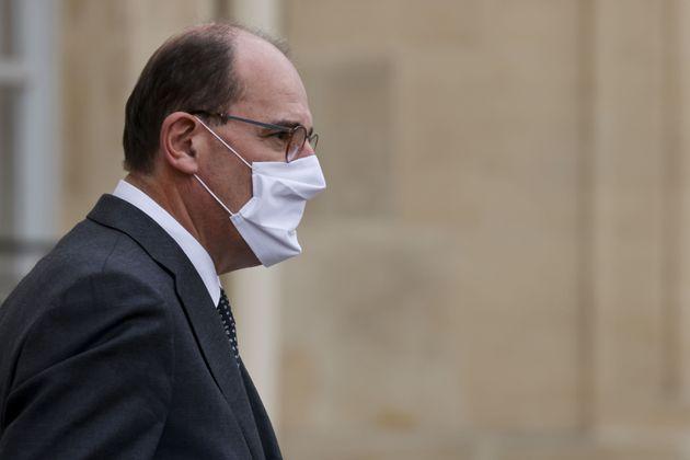 Jean Castex à l'Elysée le 28 octobre 2020 (Photo by LUDOVIC MARIN/AFP via Getty