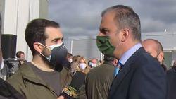 """""""Vaya hostia"""": Un reportero de TV3 triunfa con este 'corte' a Ortega Smith (Vox) durante una"""