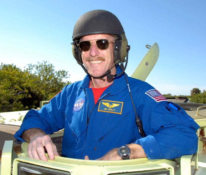 USGS Director James Reilly is a former astronaut and oil-industry geologist.