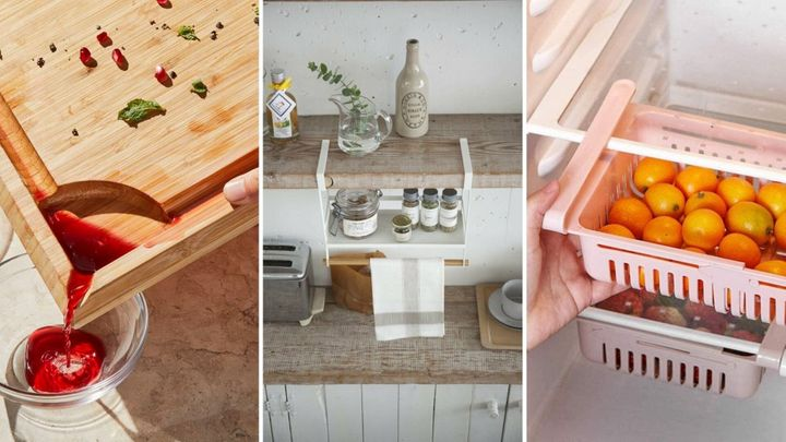 These damn-near brilliant kitchen hacks will make you love your kitchen just a little bit more.