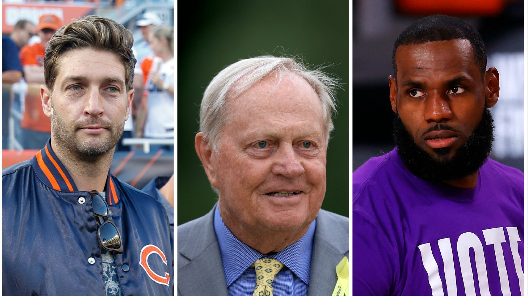 Sports Fans Ask Why Jack Nicklaus, Jay Cutler Don't Have To 'Shut Up And Play'