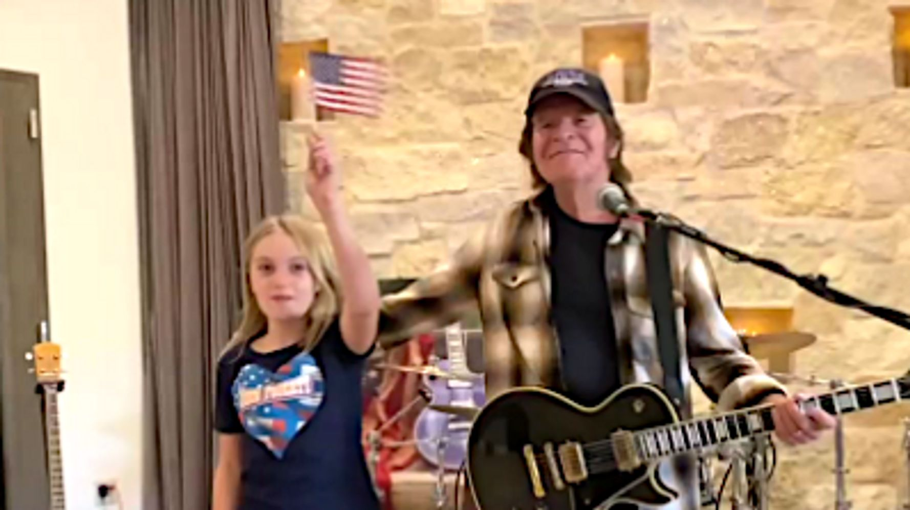 John Fogerty And Granddaughter Make Protest TikTok Against Trump