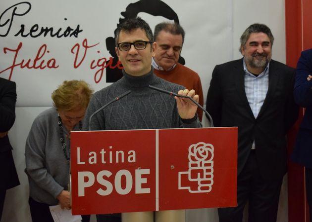 Félix Bolaños, en un acto del