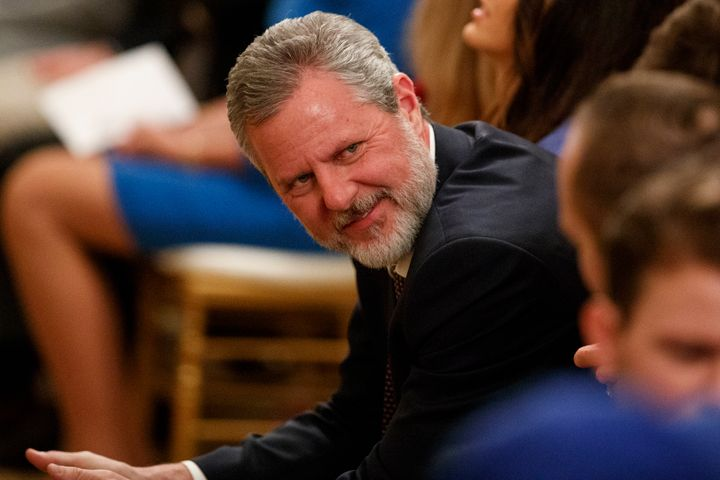 Jerry Falwell Jr. is the former president of Liberty University, an evangelical school founded by his late televangelist fath