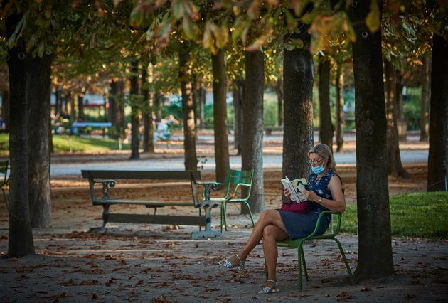 Les marchés, parcs et jardins resteront cette fois-ci ouverts (photo d'illustration prise à...