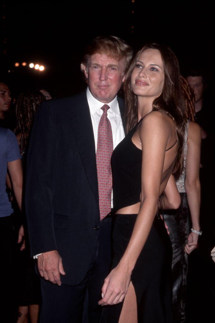 Donald y Melania Trump en Nueva York en septiembre de 1999.