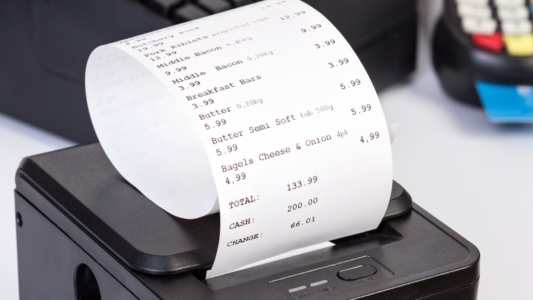 Why You Shouldn't Recycle Receipts
