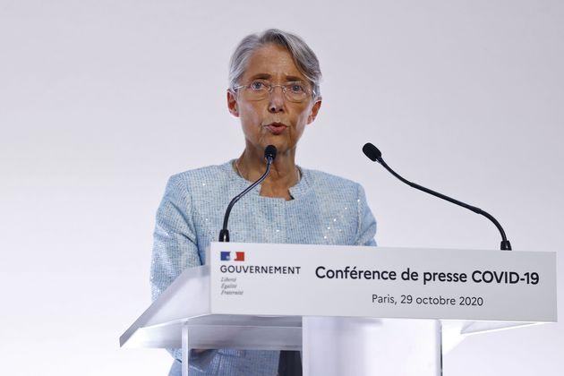 Élisabeth Borne, ici à Paris le 29 octobre