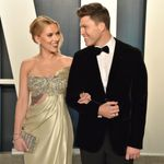 Scarlett Johansson And Colin Jost Are 'Jost Married' After Intimate