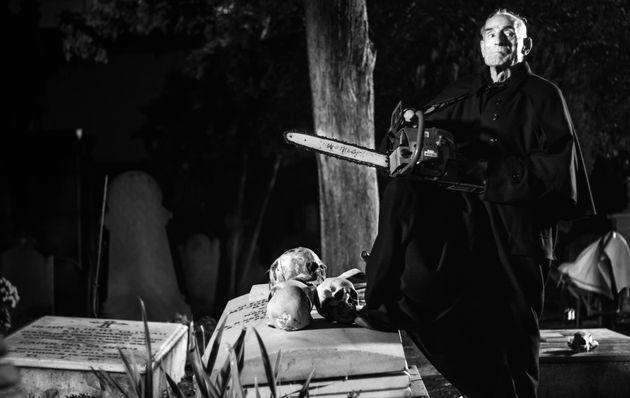 Saturnino García en Vampus Horror Tales. Cementerio Británico de