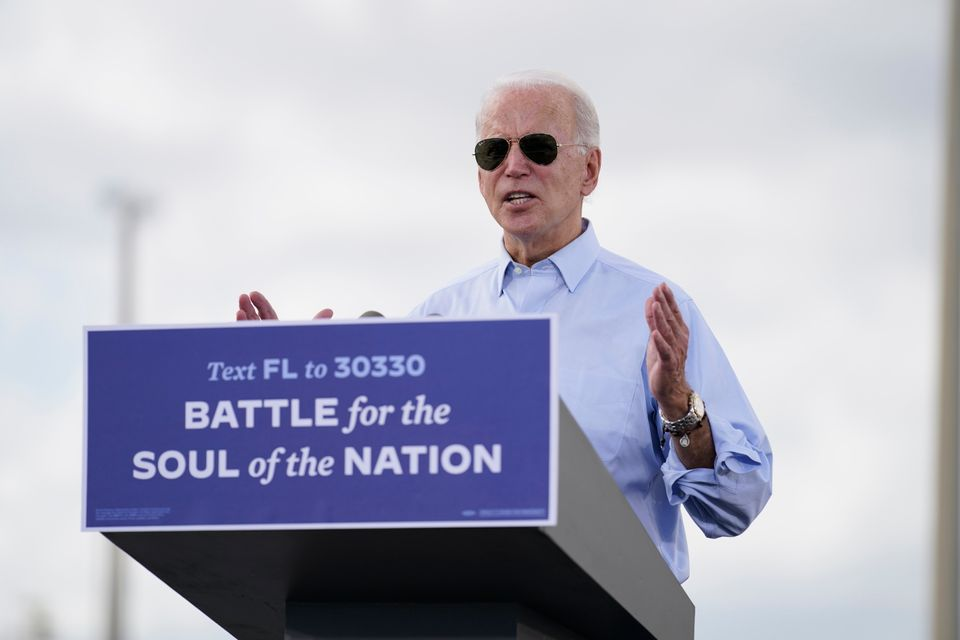 '국가의 영혼이 걸린 전투'. 코코넛크리크, 플로리다주. 2020년