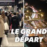 Cohue à Montparnasse, routes bondées... les images de la transhumance avant le