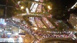 Éxodo en París: más de 700 kilómetros de atascos horas antes del