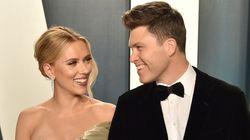Scarlett Johansson se casa en secreto con el cómico Colin