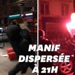 200 personnes ont manifesté à Paris contre le