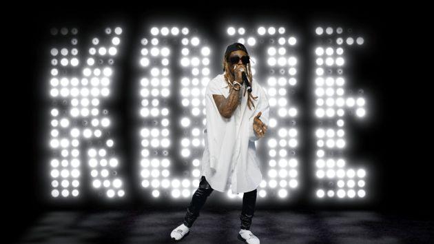 Lil Wayne performing at the BET Awards earlier this year