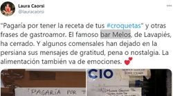 Cierra un mítico bar de Madrid y esta es la genial reacción de sus