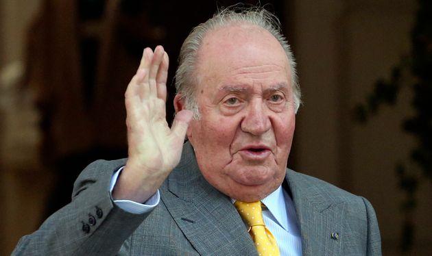 Imagen de archivo de marzo de 2018 del rey emérito Juan Carlos I en Chile (AP Photo/Esteban Felix,