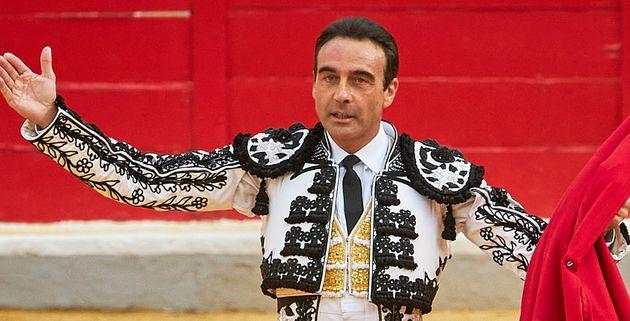 Enrique Ponce durante una corrida en Granada en septiembre de