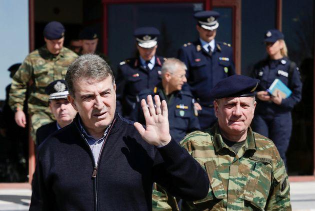 Φωτογραφία αρχείου 12 Μαρτίου 2020 - Ο κ. Χρυσοχοϊδης στην Ορεστιάδα