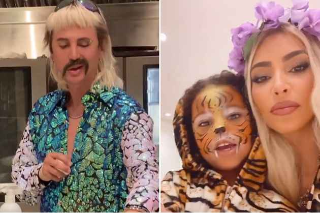 Kim Kardashian And Maya Jama Lead Our Favourite Celebrity Costumes Of 2020