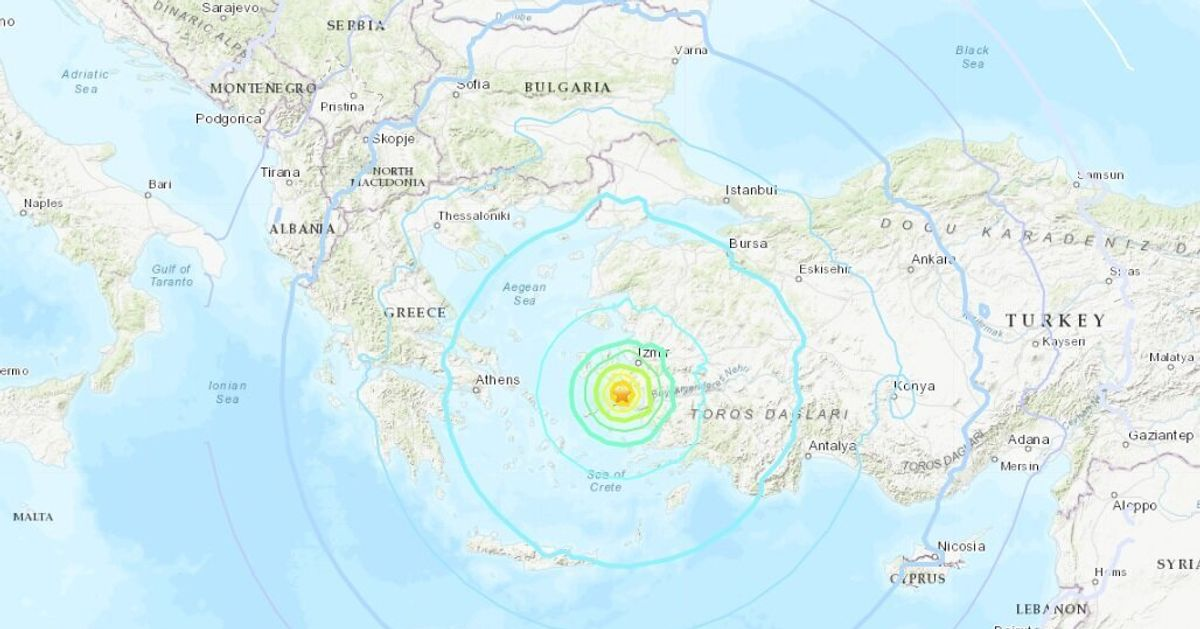 Un puissant séisme frappe l'ouest de la Turquie