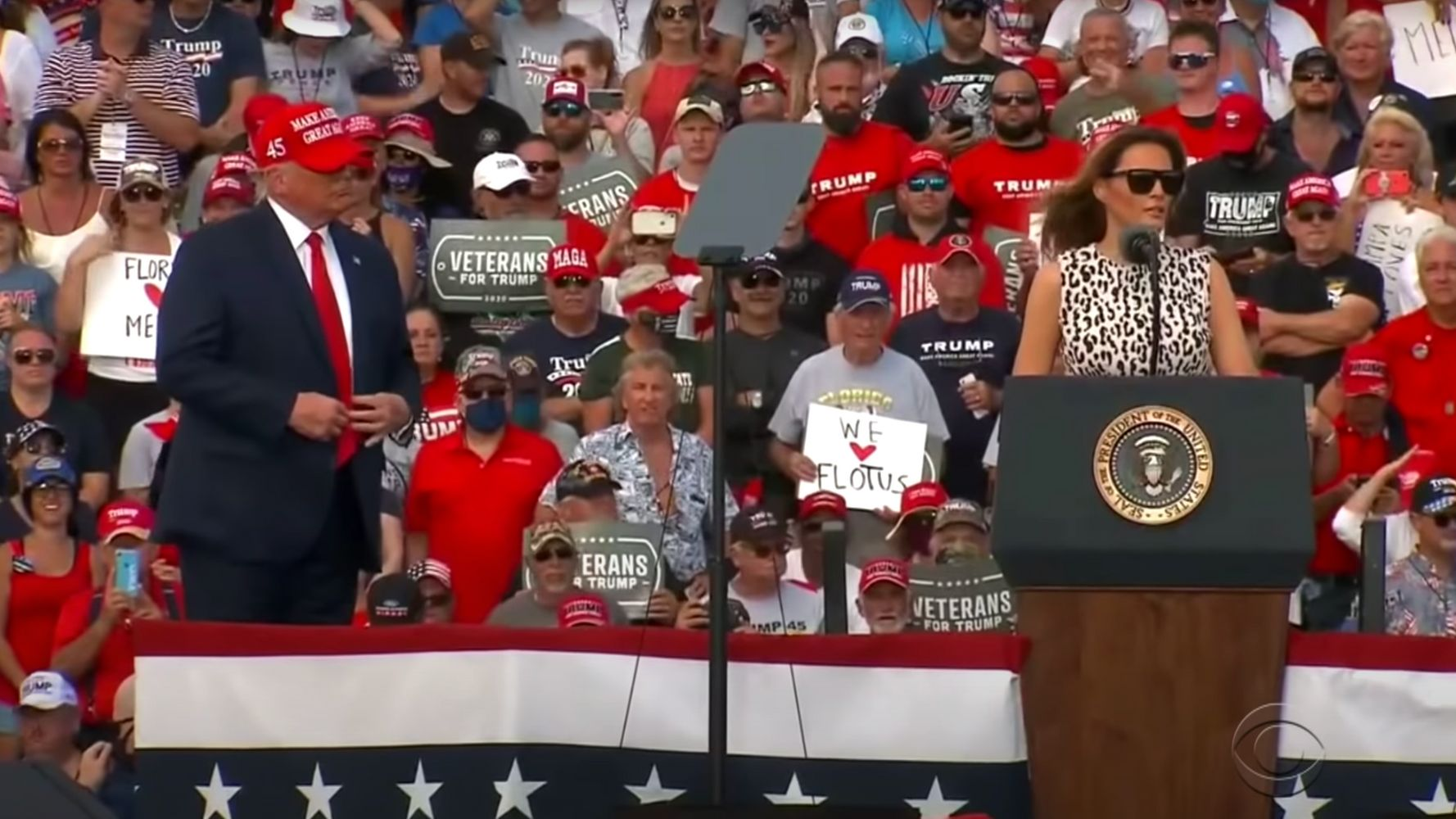 James Corden Asks Obvious Question After Melania Trump's Speech On Social Distancing
