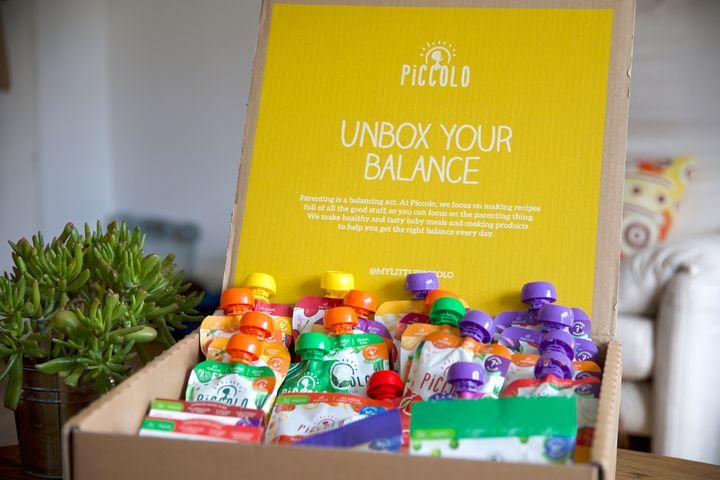 Piccolo baby food box