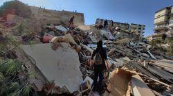 Edifici crollati, macerie, strade allagate: le immagini del disastro di
