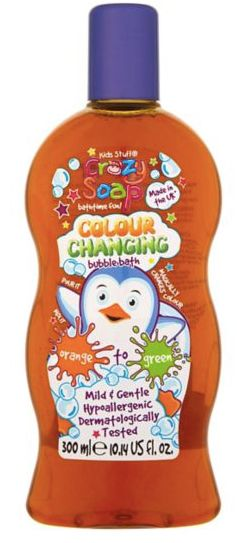 Kids Stuff Crazy Colour Changing Bubble Bath