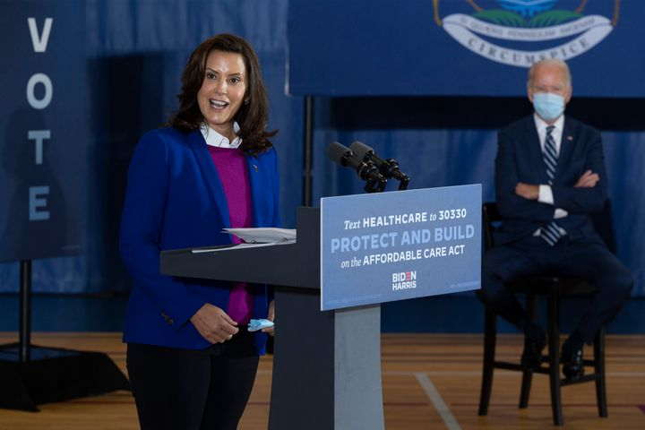 Democratic presidential nominee Joe Biden should pay close attention to Michigan Governor Gretchen Whitmer and the opposition