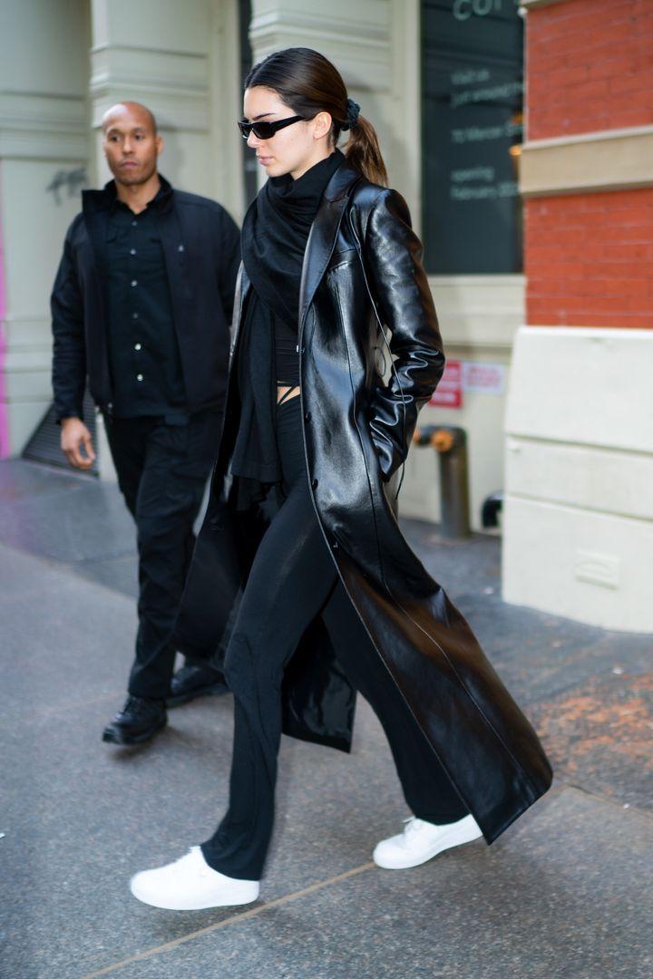 Kendall Jenner el pasado febrero.
