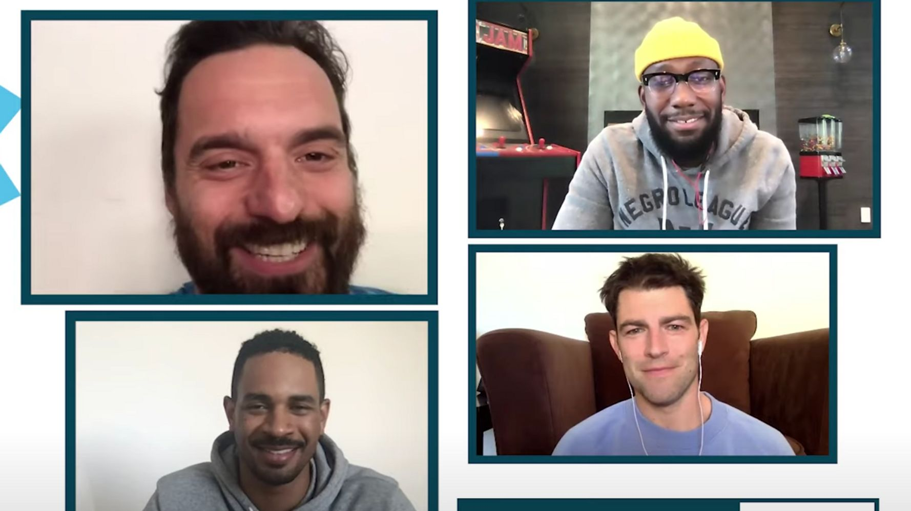 This Juicy 'New Girl' Reunion With The Men Of The Show Is Only For True Americans