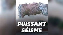 Les images des dégâts en Turquie et en Grèce après le séisme en mer