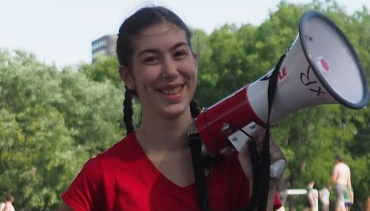 This 18-Year-Old Activist Is Ready To Get Arrested To Stop Climate