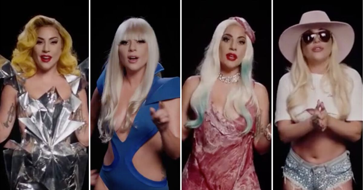 Lady Gaga Recreates Her Most Iconic Looks (Including That Meat Dress) In Rousing Election Video