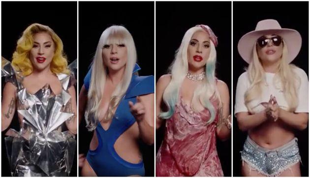 Lady Gaga em alguns de seus looks mais icônicos da