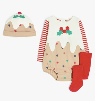 Christmas pudding outfit