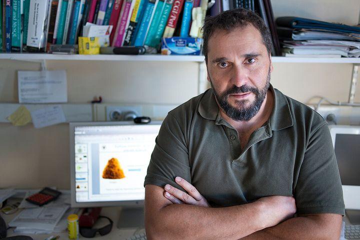 El investigador principal del estudio, Pedro A. Reche
