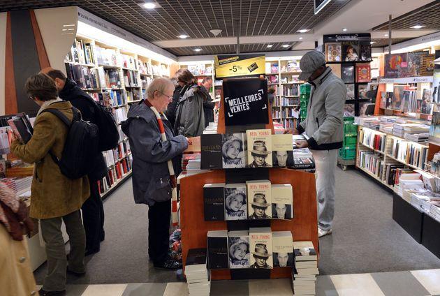 Fnac forcé de fermer son rayon livres face au tollé (photo d'illustration prise le 27 novembre