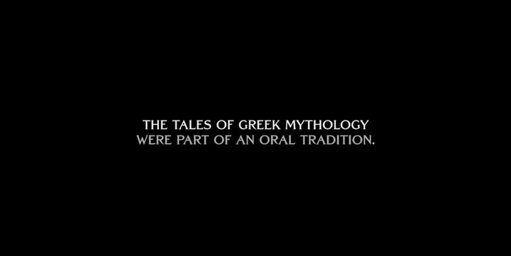 "The opening of ""Blood of Zeus"" on Netflix."