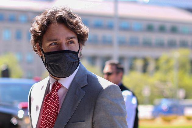 Justin Trudeau, ici à Ottawa au Canada, le 20 mai