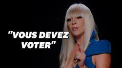 Lady Gaga revisite ses tenues iconiques pour appeler les Américains aux