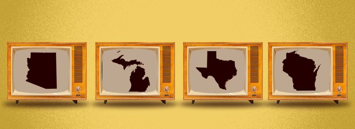 Polls close in Arizona, Michigan, Texas and Wisconsin at 9 pm (1 pm Nov 4 AEDT).